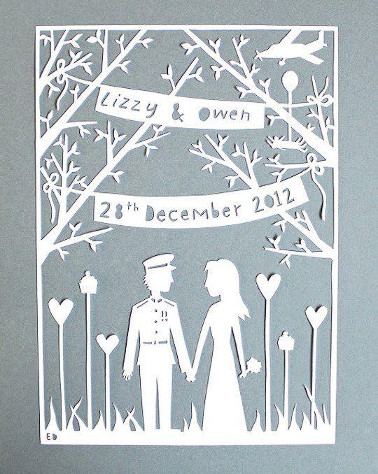 2013 Wedding Trend Laser Cut Designs