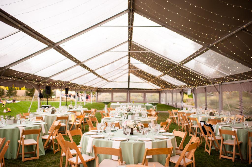 clear top tent_denver wedding_denver botanic gardens