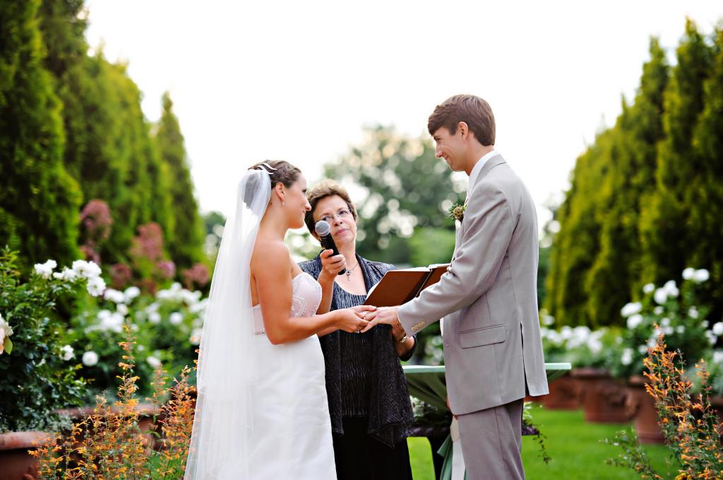 denver botanic garden_wedding ceremony