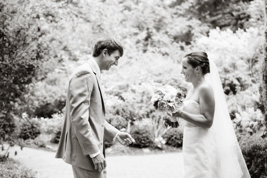 first look_garden wedding_denver