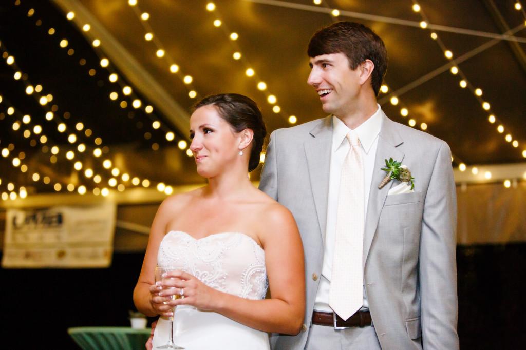 wedding toasts_tent reception_cloud 9
